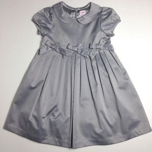 Gymboree Silver Prim and Proper Toddler Dress